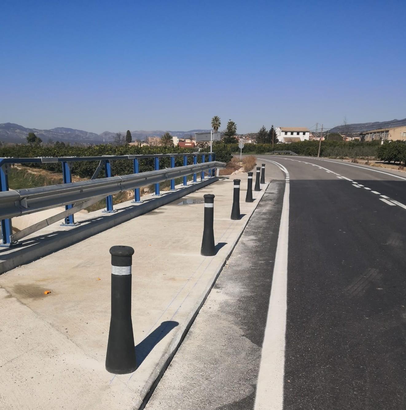Condicionamiento de la carretera T-301 Tortosa